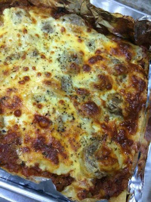 Lasagna Mewah Daging Nyummy Nyummy