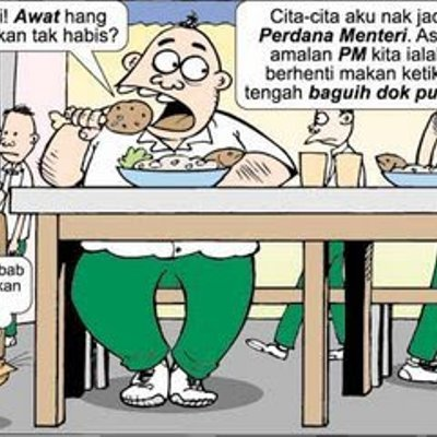 Lawak Sindiran Makan Dalam Untuk Pemimpin