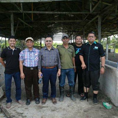 Lawatan Ke Tapak Penternakan Lembu Bersama Pengurusan Kiqyb Di Slim River Perak