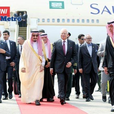 Lawatan Najib Atas Jemputan Raja Arab Saudi