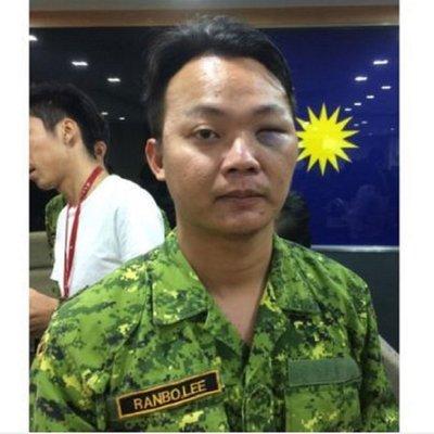 Lelaki Bergelar Datuk Seri Tumbuk 3 Anggota Rela