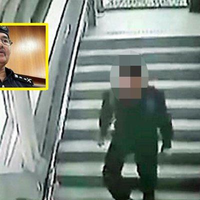 Lelaki Tendang Belakang Wanita Di Jejantas Berdekatan Bank Negara Sudah Ditahan Polis
