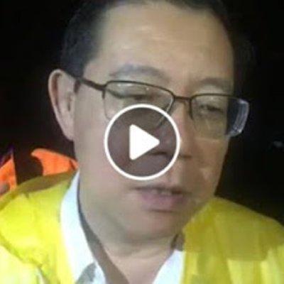 Lge Minta Tolong Kerajaan Pusat Bantu P Pinang Sedang Dilanda Banjir