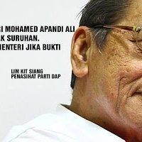 Lim Kit Siang Mulakan Provokasi Terhadap Peguam Negara Baru