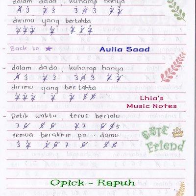 Lirik Lagu Rapuh Nastia Nastia Rapuh