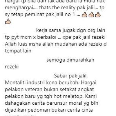 Luahan Aku Rasa Terhina Betul Jalil Hamid