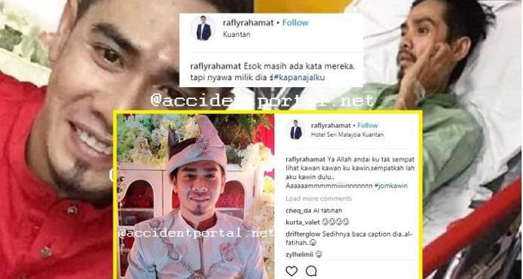 Luahan Sayu Rafly Tentang Mati Sebelum Ajal Hasrat Berkahwin 2018 Tidak Kesampaian