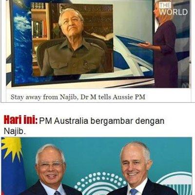 Mahathir Boikot Australia Sebab Pm Australia Tak Mahu Ikut Cakap Dia