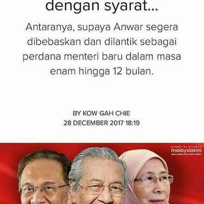 Mahathir Diperkuda Untuk Bebaskan Anwar