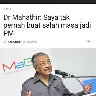 Mahathir Hari Ini Vs Mahathir Sebelum Ini Orang Macam Ini Tidak Boleh Dipercayai