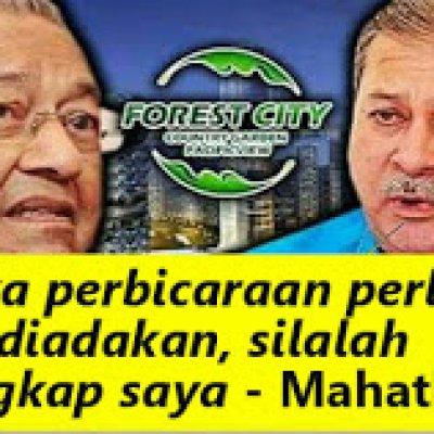 Mahathir Tak Kisah Jika Beliau Ditangkap