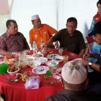 majlis jamuan hari raya aidilfitri cawangan kampung paya