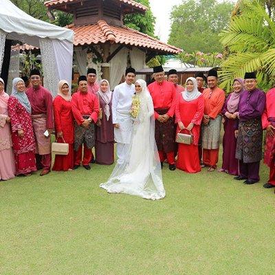 Majlis Pernikahan Hafez Dan Mira Di Casa Iman