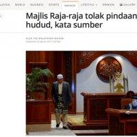 Majlis Raja Raja Pun Dah Tegur Najib