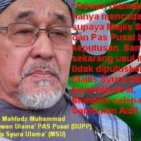 Majlis Syura Ulama Hanya Akan Bermasyuarat Selepas Aidil Fitri Hancussssss