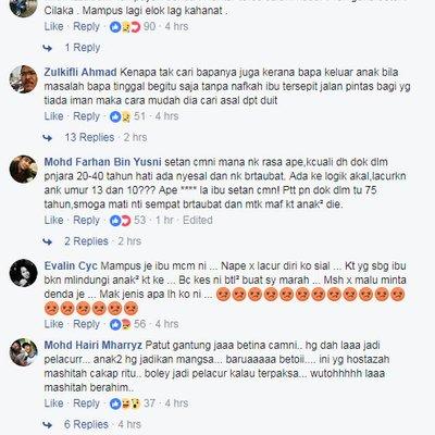 Mak Jenis Apa Kau Ni Sampai Lacurkan Anak Sendiri Reaksi Netizen Ibu Durjana Dipenjara 75 Tahun