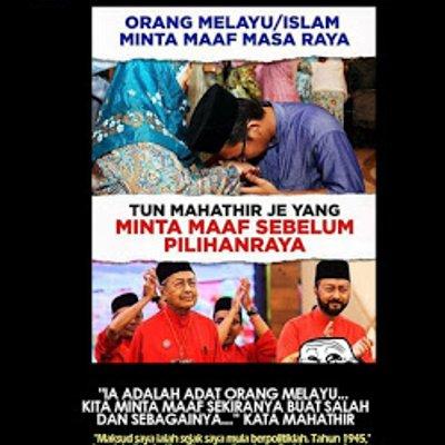 Makna Minta Maaf Tun Mahathir