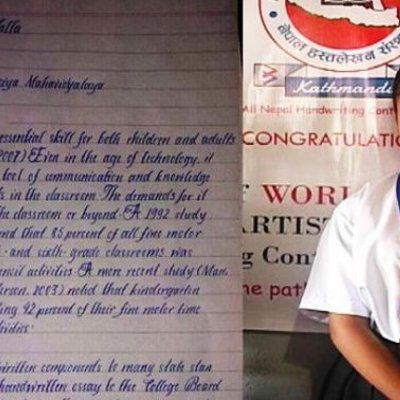 Masa Depan Budaya Tulis Tangan Masihkah Layak Dipertahankan