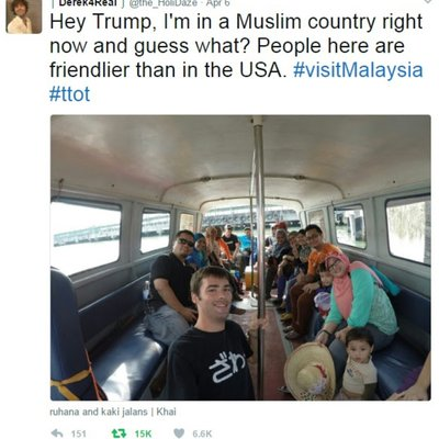Mat Saleh Ini Puji Rakyat Malaysia Tapi Ada Je Yang Tak Puas Hati
