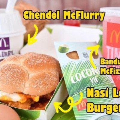 Mau Total Gaet Pasar Lokal Mcd Singapura Bikin Burger Nasi Lemak Udah Burger Kok Pakai Nasi Ya