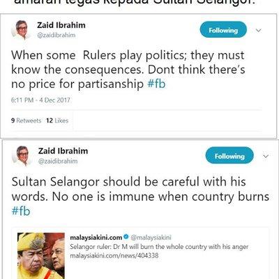 Melayu Ini Memang Biadap Dan Kurang Ajar Sama Sultan Selangor