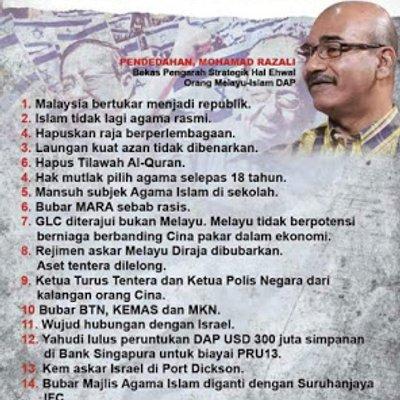 Melayu Masih Euphoria Pru Tak Sedar Dibangsat Dap