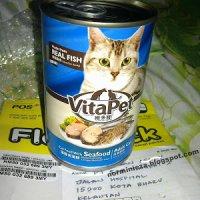 Menang Hadiah Makanan Kucing Topup