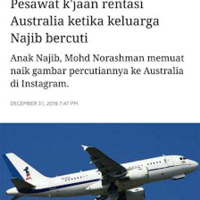 Menjawab Kebodohan Malaysiakini Dan Macai Pembangkang Isu Jet Kerajaan