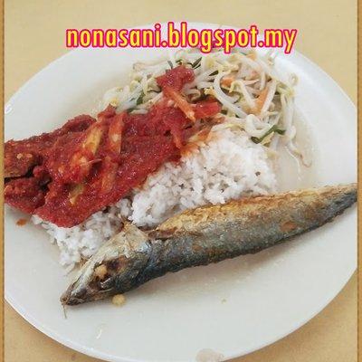 Menu Lunch Nona Berharga Rm5 00