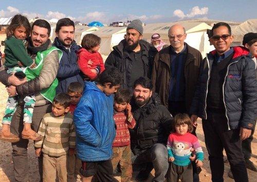 Mercy M 039 Sia Bantu Pelarian Dari Aleppo Syria