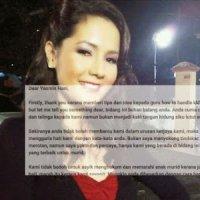 Mesti Baca Luahan Merotan Murid Tidak Relaven Lagi Yasmin Hani Terima Surat Terbuka Dari G...
