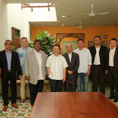 Mesyuarat Bersama Pengerusi Dmdi Di Melaka