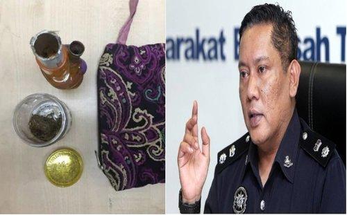 Miliki Ganja Seberat 7 50 Gram Pelawak Ditahan Polis