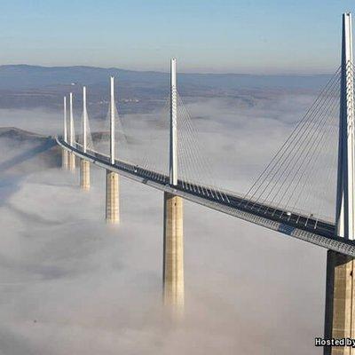 Millau Viaduct Jambatan Vehicular Paling Tinggi Di Dunia