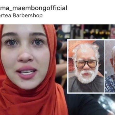 Misi Handsomekan Wajah Ayah Emma Maembong Di Puji