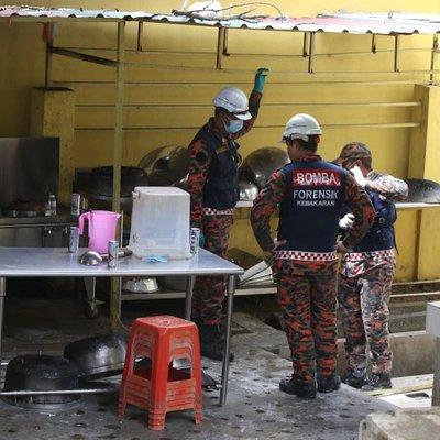 Misteri Tong Gas Kuning Di Luar Asrama Menurut Siasatan Punca Kebakaran Bukan Disebabkan Litar Pintas