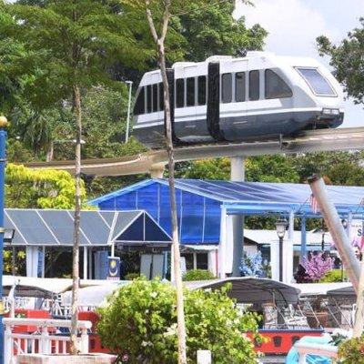 Monorel Melaka Yang Baru Dibuka Jadi Tarikan Pelancong