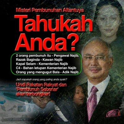 Najib Hidup Ketakutan Kes 1mdb Tak Selesai Muncul Pula Saksi Dedahkan Pembunuhan Altantuya