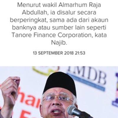 Najib Sudah Sudahlah Reka Cerita Dongeng
