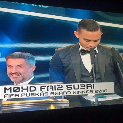 Nama Malaysia Harum Di Puskas Award Tahniah Faiz Subri