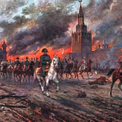 Napoleon Enters Moscow 14 September 1812