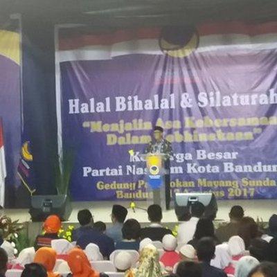 Nasdem Perkenalkan 6 Bakal Calon Pengganti Ridwan Kamil Di Bandung