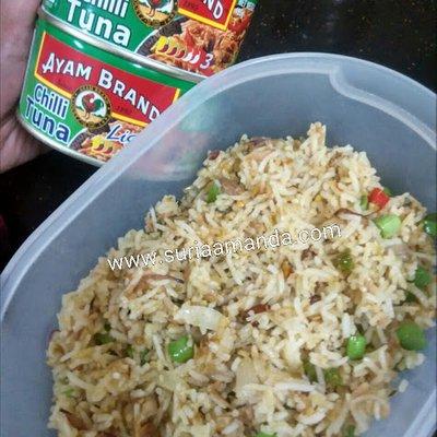Nasi Goreng Chilli Tuna Ayam Brand Extra Hot