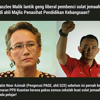 Netizenmarah Maszle Lantik Azimah Sebagai Majlis Penasihat Pendidikan Malaysia