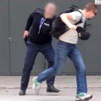 Ngeri Curi Topi Anggota Polis Lelaki Ini Ditembak
