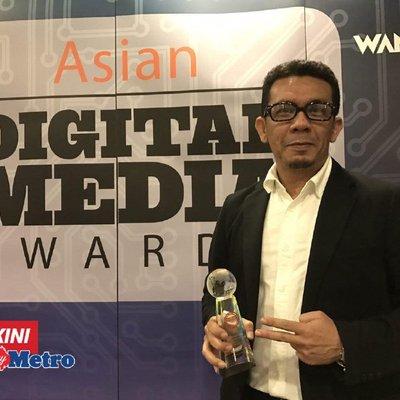 Nstp Raih Gangsa Anugerah Media Digital Asia 2017