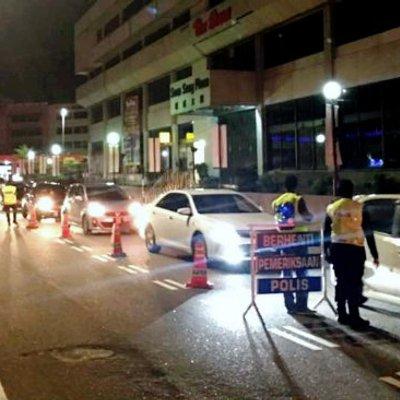 Op Cegah Samseng Jalanan 3 Mat Rempit Ditahan