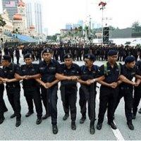 Ops Aman Seorang Peserta Himpunan Bersih Ditahan