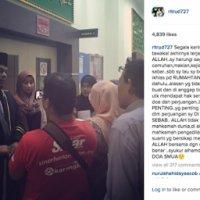 Orang Menipu Takkan Ke Mana Rita Menyindir Aidil Di Instagram