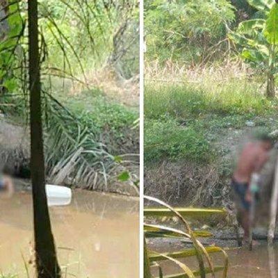 Orang Ramai Gempar Mayat Tiba Tiba Bangun Di Sungai Besar